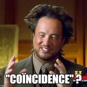 13 coïncidences insolites