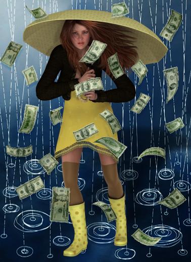 quand l'argent tombe du ciel