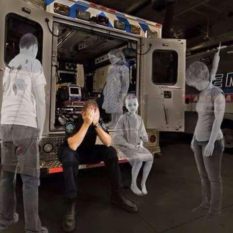 fantômes dans l'ambulance
