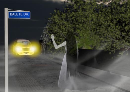 la dame blanche de Balete Drive