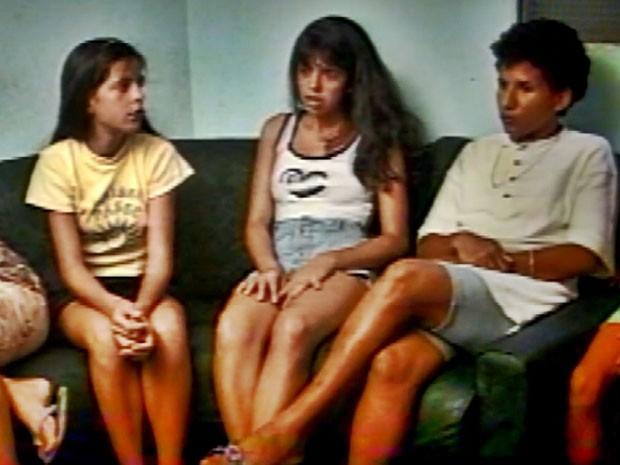 Valquíria, Liliane et Kátia