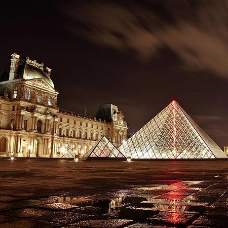 fantômes du Musée du Louvre