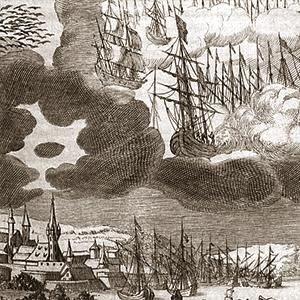 En 1665, des gens observent une bataille d'OVNIs, puis, tombent malades